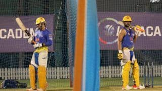 Wallpaper Stuff! Picture of Dhoni-Raina in One Frame During CSK Net Session Goes Viral