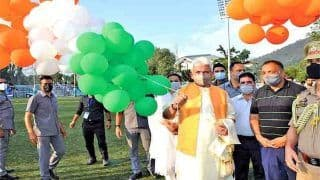 L-G Manoj Sinha Will Preside Over Main Independence Day Functions At J&K's Sher-e Kashmir Stadium