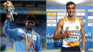 Tokyo Paralympics 2020: Mariyappan Thangavelu, Sharad Kumar Win Silver And Bronze in Men's High Jump; India' Medal Tally Hits Double Digits
