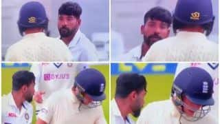 VIDEO: Mohammed Siraj-Sam Curran Get Into a Heated Argument During 1st Test Between India-England at Trent Bridge
