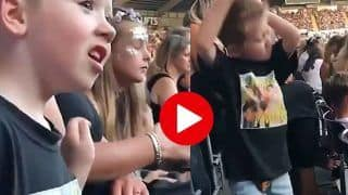 Viral Video: स्टेडियम की बेंच पर बच्चे ने किया बवाल डांस, अब तक करोड़ों लोग देख चुके | वायरल हुआ ये वीडियो