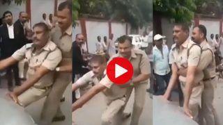 Police Wale Ka Video: होश खो बैठा पुलिसकर्मी सड़क पर कार के सामने करने लगा ऐसी हरकत, Viral हुआ ये वीडियो