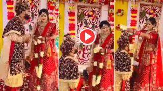 Dulha Dulhan Ka Video: स्टेज पर दूल्हे ने किया कुछ ऐसा, अपनी खुशी ना छिपा पाई दुल्हनिया | देखिए ये वीडियो