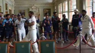 India vs England, 2nd Test: शमी-बुमराह के स्वागत में लॉर्ड्स की लॉबी से नीचे आई टीम, स्टैंडिंग ओवेशन से स्वागत