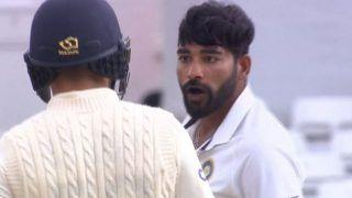India vs England, 1st Test: मोहम्मद सिराज ने सैम कर्रन को दिखाई गर्मी, विराट कोहली ने संभाला मामला