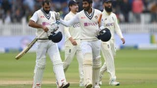Video: Mohammed Shami, Jasprit Bumrah Get a Rousing Welcome Back in the Lord's Dressing Room