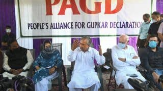 Gupkar Alliance Adopts Resolution To Restore J&K's Special Status, Plans to reach Out to People