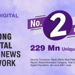 Zee Digital Ranks 2nd in a Row With 229 Million Unique Visitors in June '21 Comscore Ranking