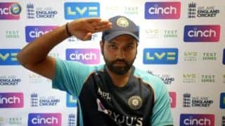 Will be great watch rohit sharmas reaction on being asked if india will win lords test on independence day 4885205