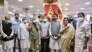 Rahul Gandhi Visits Kheer Bhawani Temple, Dargah Hazratbal Amid Two-day J&K Trip