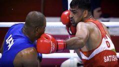 पत्नी के मना करने के बावजूद ओलंपिक क्वार्टर फाइनल खेलने उतरे थे सतीश कुमार; कहा- 'मरता क्या ना करता'