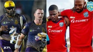 SLK vs TKR MATCH HIGHLIGHTS CPL 2021, Match 7 Cricket Updates: Riaz, Chase Star as St. Lucia Kings Beat Trinbago Knight Riders by 5 Runs