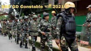 SSC GD Constable Recruitment 2021: SSC में GD Constable के पदों पर निकली बंपर वैकेंसी, 10वीं पास करें आवेदन, 67000 से अधिक मिलेगी सैलरी