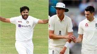 Shardul Thakur Doubtful For Lord's Test After Hamstring Injury; Stuart Broad Likely to Miss 2nd Test vs India Due to Calf Strain: Report