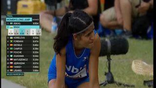 U-20 World Athletics Championships: Heartbreak for Long Jumper Shaili Singh, Misses Gold by 1 Cm   Watch