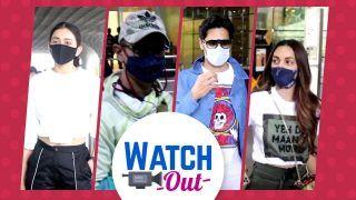 OMG! Sidharth Malhotra And Kiara Advani Snapped Together at Airport, Aamir Khan, Disha Patani And More: Watch Out