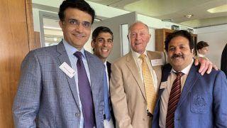 India vs England: लॉर्ड्स के मैदान पर पहुंचे Sourav Ganguly, लिख दी दिल छू लेने वाली बात