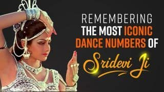 Remembering Sridevi Ji : Most Iconic Dance Numbers of Sridevi Ji, on Her Birth Anniversary