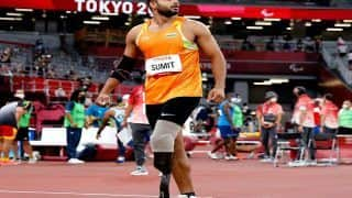 Sumit Antil Clinches India's 2nd Gold in Tokyo Paralympics in Javelin Throw (F64) Event, Sets New World Record