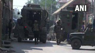 Jammu Kashmir: शोपियां में सुरक्षाबलों और आतंकियों के बीच मुठभेड़ जारी, 1 आतंकी ढेर