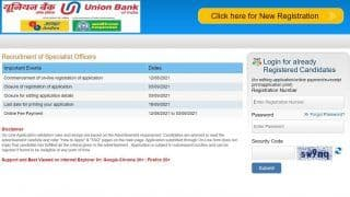 UBI Recruitment 2021: Applications Invited For Over 300 Posts in Union Bank of India, Here's How to Apply