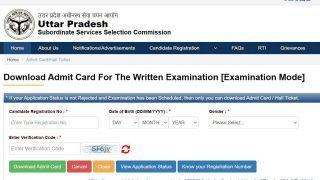 UPSSSC PET Admit Card Released at upsssc.gov.in; Easy Steps, Direct Link to Download UPSSSC PET 2021 Hall Ticket Here