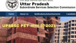 UPSSSC PET Answer Key 2021 Released at upsssc.gov.in; Download PDF Here, Submit Objection Before September 7