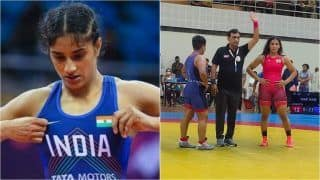 Vinesh Phogat Crashes Out, Sangeeta Phogat Through; Juniors Day Out at Senior World Championship Trials