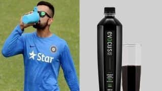 Fitness Freak Virat Kohli Drinks 'Black Water' And It's Price is Rs 4000/Litre: Report