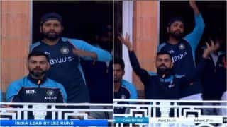 IND vs ENG: Virat Kohli, Rohit Sharma Complain About Bad Light From Lord's Balcony During 2nd Test | WATCH VIDEO