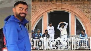 IND vs ENG: Virat Kohli's Nagin Dance at Lord's Balcony During 2nd Test Sparks Meme Fest on Twitter; See India Captain's Viral Picture