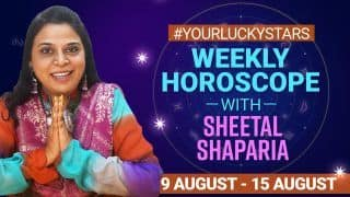 Weekly Horoscope, August 9 to August 15 2021: Know What's Coming Your Way This Week? Relationship, Money, Health For All Zodiac Signs