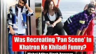 Vishal Aditya Singh's FIRST EVER Reaction On Recreating 'Pan Scene' In Khatron Ke Khiladi and If It Was 'Funny or Not' | Exclusive