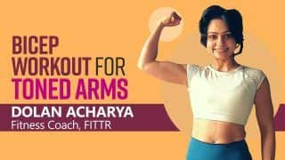 At-Home Bicep Workout: Standing Biceps Curl to Side Cable Curl, Try These Exercises For Strong And Toned Biceps