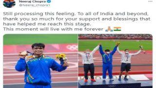 ट्विटर पर दुनिया के तीसरे सबसे चर्चित एथलीट रहे भारत के गोल्ड मेडलिस्ट नीरज चोपड़ा