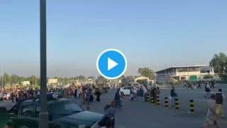 Video: Heavy Gunfire Kills 5 as Citizens Gather at Kabul Airport to Leave War-Torn Country | WATCH