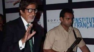 Amitabh Bachchan's Personal Bodyguard Gets Transferred to Police Station- Here's Why
