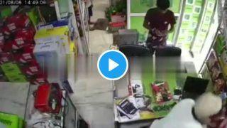 Caught on CCTV: Faridabad Shopkeeper Brutally Thrashed, Rib Broken Over Rs 1,850
