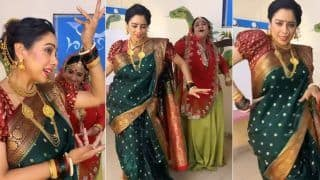Anupamaa Fame Rupali Ganguly-Alpana Buch Aka Baa Perform Hook Steps Of 'Param Sundari' As She Talks About Body Positivity
