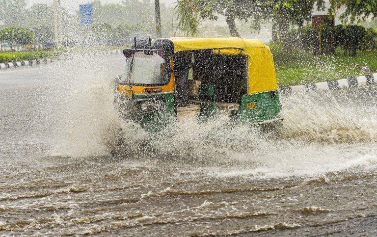 Heavy Rains Lash Delhi-NCR, Waterlogging in Several Parts; More Rains Predicted