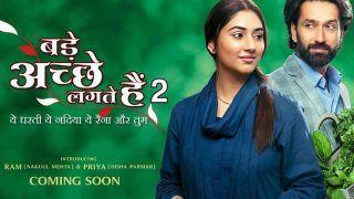 Bade Acche Lagte Hain 2 First Poster Out: A Refreshing Glimpse Of Disha Parmar As Priya, Nakuul Mehta As Ram
