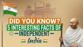 75th Independence Day: Did You Know There Was No National Anthem When India Became An Independent Country? | 5 Interesting Facts About Independent India