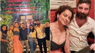 Kangana Ranaut Wraps Up Shooting of Dhakkad With a Dinner Date With Team in Budapest