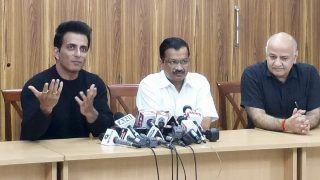 Kejriwal Announces Sonu Sood as Brand Ambassador of Delhi Govt's Desh Ke Mentors Programme
