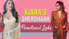 Kiara Advani's Shershaah Promotion Looks: साड़ी के पेंट सूट तक कुछ इस तरह अलग अलग लुक्स में नज़र आईं किआरा, देख फैंस रह गए दंग | Watch