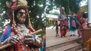 Man Dressed as Lord Sri Krishna Denied Entry Inside Taj Mahal