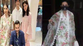 अर्जुन कपूर की चाची के आगे फीकी लगी मलाइका अरोड़ा, दो बच्चों की मां ने उड़ा लिया सबका दिल