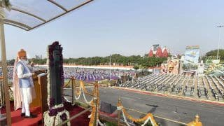 At Red Fort's I-Day Event, PM Modi's Security Guard Faints Due to Heat, Rushed to Hospital