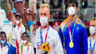 Tokyo Olympics 2020: Neeraj Chopra की बदौलत ओलंपिक में 13 साल बाद बजा 'भारत का राष्ट्रगान', भावुक कर देगा Video