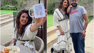 Priyanka Chopra's Ivory Dress Worth Rs 25K is the Perfect Rakhi Attire